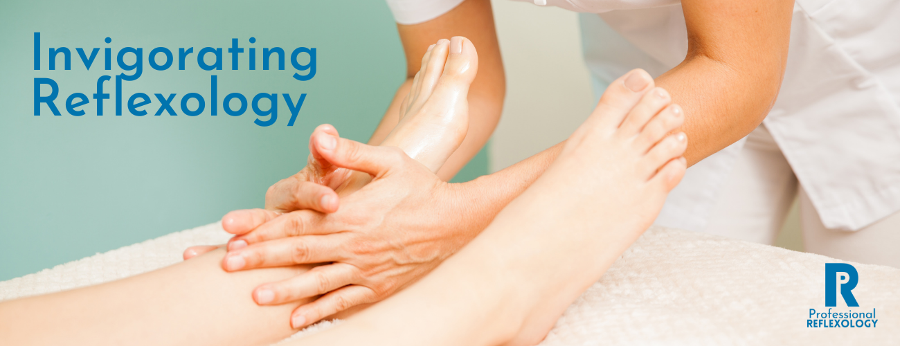 professional reflexology invigorating homepage banner