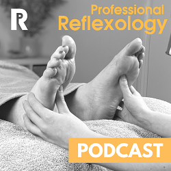 professional reflexology podcast logo