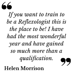gaia reflexology quote