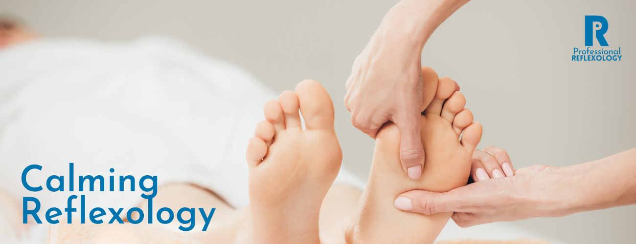 professional reflexology calming homepage banner