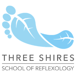 three shires school reflexology logo logo 250