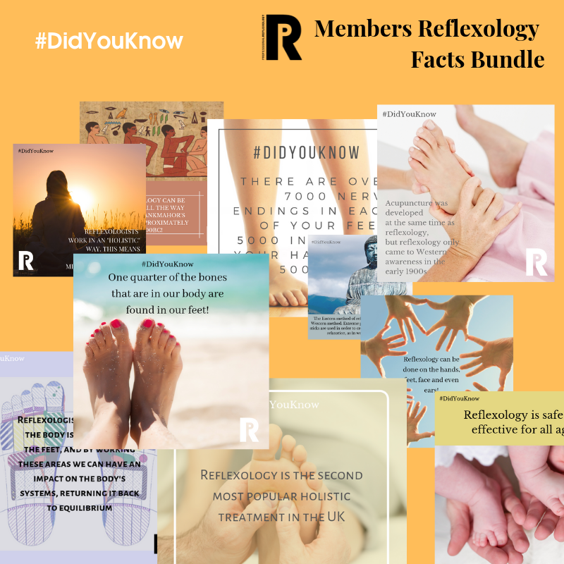 DidYouKnow Reflexology Bundle
